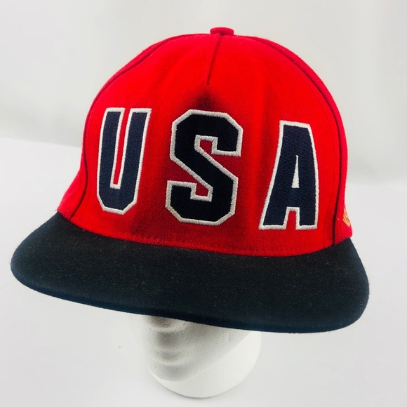 d86253f9 Supreme Accessories | Ss 2012 Visions Of Gold Red Usa Hat | Poshmark